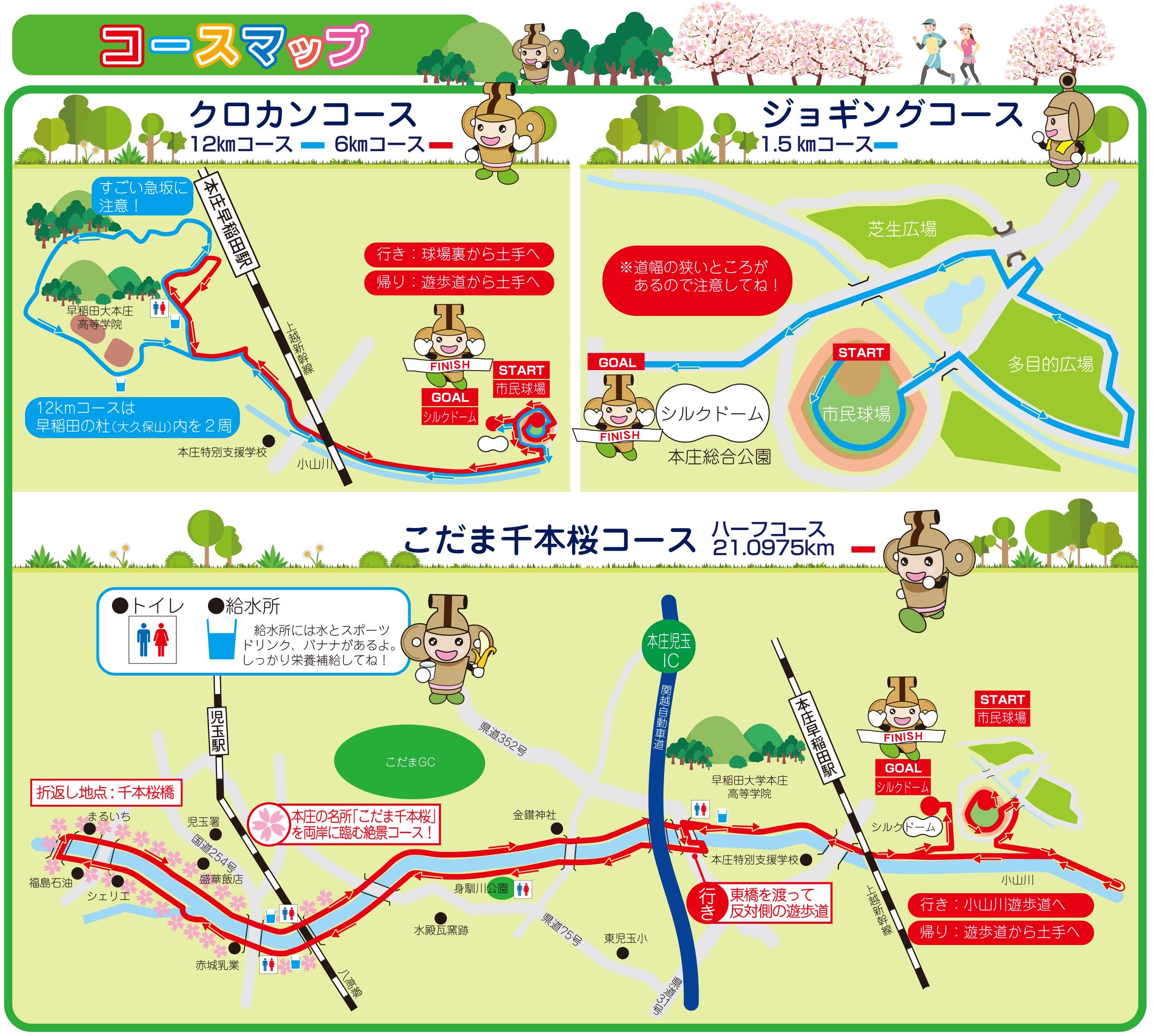 コースマップ イメージ画像